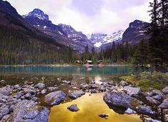 cabins on lake