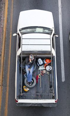 Carpoolers: The Daily Commute Captured From Above