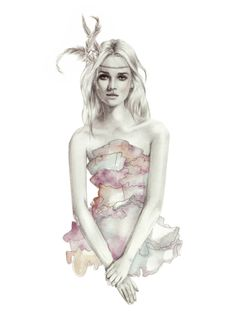 Kelly Smith fashion illustration x