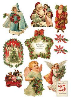 Decoupage christmas - Mary. XIX - Picasa Web Albums