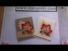 ▶ How to Create Beautiful Fall Cards using Stampin' Up! products - YouTube