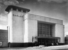 Odeon Warley 1934 | The Odeon at Warley (opened in 1934)  by Architect T.Cecil Howitt. whose original tower plans was for one twice the height of the finished building. This cinema opened as The Warley in 1934 and was badged as an Odeon in 1936. Image courtesy of English Heritage. Sadly the building was demolished in 1973