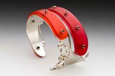 Gemini Cuff Bracelet - Art Jewelry Magazine Community - Forums, Blogs, and Photo Galleries