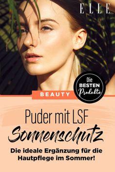 Puder-Sonnenschutz: Dieses Produkt mit LSF ist die ideale Ergänzung für die Hautpflege im Sommer #lsf #suncare #puder #sonnenschutz #makeup #hautpflege #sonnencreme #elle #gesicht Concealer, Elle, Beauty Make Up, Beauty Trends, Routine, Bikini, Makeup, How To Make, Sunscreen