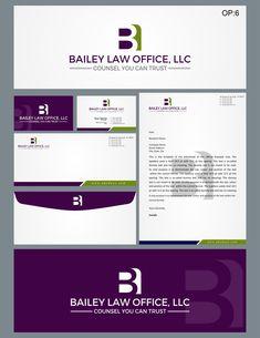 Bailey Law Office, LLC Modern, Professional Logo Design by Liyana