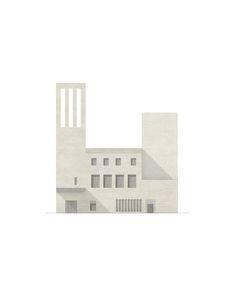 Hermansson Hiller Lundberg Arkitekter · Church in Sydhavnen - Homepage Architecture Concept Drawings, Architecture Graphics, Architecture Visualization, Monumental Architecture, Brick Architecture, Rendering Architecture, Architecture Diagrams, Lund, Kirchen