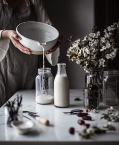 Homemade Almond Milk - The Kitchen McCabe