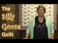 The Silly Goose Quilt Tutorial - YouTube