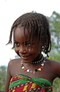 Africa | Arab Shuwa nomad girl.  Near Maroua, Cameroon. | ©Middle Africa, via flickr //