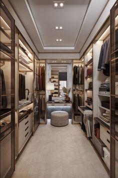 40 Fabulous Dressing Room Design Ideas For Inspiration - Wardrobe Room, Wardrobe Design Bedroom, Luxury Bedroom Design, Home Room Design, Dream Home Design, Wardrobe Interior Design, Luxury Wardrobe, Luxury Home Designs, Latest Bedroom Design