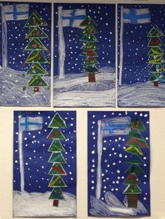 Hobbies And Crafts, Arts And Crafts, Diy For Kids, Crafts For Kids, Independence Day Photos, Kindergarten Themes, Winter Art, Art Classroom, Christmas Activities