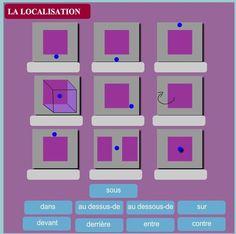 moddou : la localisation (prépositions dans l'espace)