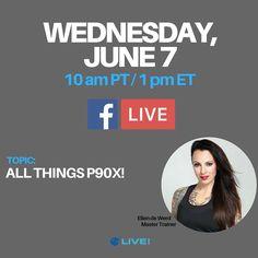"""Social media takeover! I'll be on @beachbodylive Facebook account in the morning talking ALL THINGS P90X. Come get your questions answered about the fitness industry's most """"disruptive"""" format or just pop on to say hi!  Remember... not my personal account... Beachbody Live's!"""
