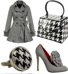 Houndstooth never goes out of style. I want these shoes and this coat in a bad way~ang