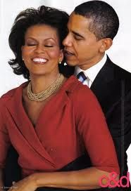 President Barack Obama and First Lady Michelle Obama - They show their love openly, no matter where they are. Such a great respect and love!