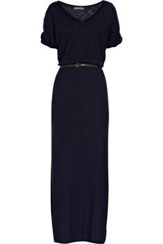 Love this dress. Navy Blue is my new Black