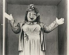 """""""Sally"""" at the Laff-in-the-Dark, Kennywood. She looks and laughs just like my mother-in-law, for realz ROFL"""