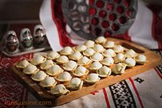 Pelmeni- classic Russian dish mama used to make :)    http://www.ruscuisine.com/recipes/breads-and-pastry/dumplings/n--524