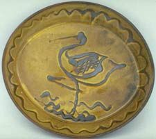 A plate by Michael Cardew