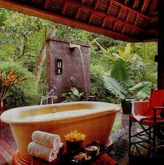 Four Seasons Resort, Sayan, in Bali as featured in Australian Home Beautiful January 2005