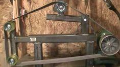 Resultado de imagem para plans for belt grinder Metal Working Tools, Metal Tools, 2x72 Belt Grinder Plans, Washing Machine Motor, Knife Grinder, Power Hammer, Fabrication Tools, Welding Shop, Diy Belts