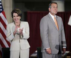 Pelosi & Boehner
