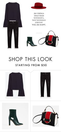 """""""Untitled #30"""" by alma-cizmic ❤ liked on Polyvore featuring Piel Leather, Lunares and Novo"""