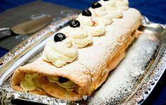 Biscuitrol met kersen - Keuken♥Liefde