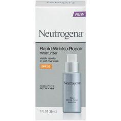 NeutrogenaRapid Wrinkle Repair Moisturizer SPF 30