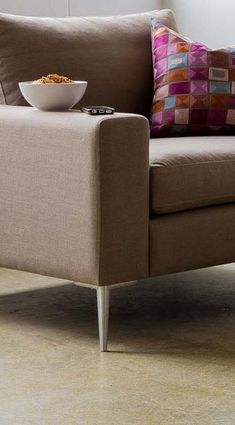 The Nova collection characterizes a Danish design that elegantly unifies modern minimalist lines with functionality.