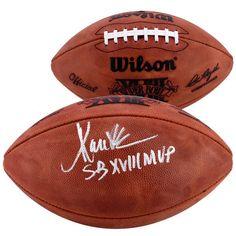 e69e24cc25a Marcus Allen Los Angeles Raiders Fanatics Authentic Autographed Super Bowl  XVIII Football with SB XVIII MVP Inscription