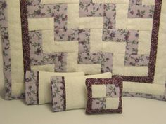 Another idea for dollhouse quilts!