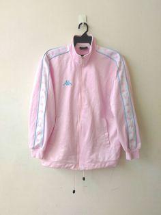 Excited to share the latest addition to my #etsy shop: Vintage Kappa Logo Pink Jacket https://etsy.me/2qrqONH #clothing #jacket #kappa #kappajacket #kappapants #kappatrackpants #kappalogojacket #kappasweatshirt #versace  urfavouriteshirts.etsy.com