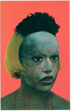 "Contemporary Art Presentations Body III - Orlan , ""Omniprescence"" - by Ava Body To Body, Body Art, Helen Chadwick, Travel Light, Headgear, Plastic Surgery, Ava, Mankato Minnesota, Rochester Minnesota"