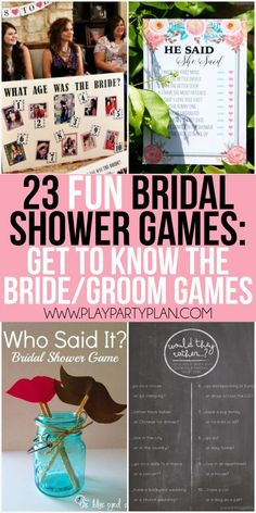 839ed4f14d 23 more funny bridal shower games that don't suck including everything from…