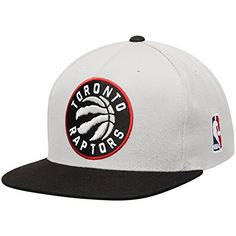 4b00781ac27 Toronto Raptors Mitchell Ness NBA XL Logo 2Tone Snapback Cap OneSize --  Find out more