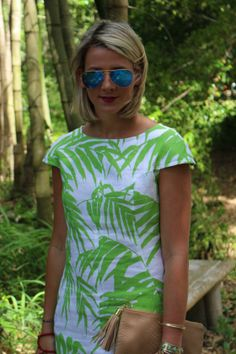 Quadrille In The Jungle// Gigi New York// Anna Beck// Ray-Ban// Quadrille Fabrics// Fashion Blogger// Shotguns & Seashells// www.shotgunsandseashells.com
