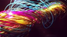 Amazing rendering in after effects of trapcode simulation
