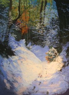 A step-by-step article explaining how to paint a snow scene using pastels. Written by a UK pastel artist.