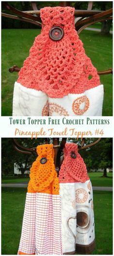 Basic Towel Ring Crochet Free Pattern Towel Topper Free Crochet