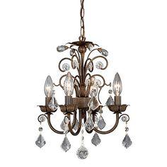 Vaxcel USA MNCHU016AW Rovinia 4 Light Crystal Chandelier Lighting Fixture in Aged Walnut Bronze Vaxcel http://www.amazon.com/dp/B0038VKRQA/ref=cm_sw_r_pi_dp_iNYkub1W7N80Q