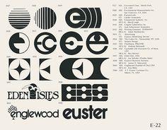 Vintage Logos E-22