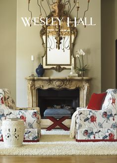 Wesley Hall @ GRAMMERCY ROAD Hall Chairs, Devine Design, Tuscan Design,  High Point