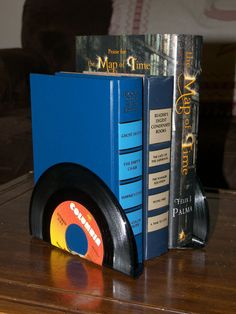 Vintage Vinyl Record Bookends by FunEclecticHF on Etsy, $8.00 WHAM!