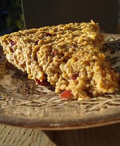 the food: converting the oatmeal haters... {baked oatmeal}