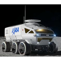 Toyota Dreamed Up an SUV for the Moon