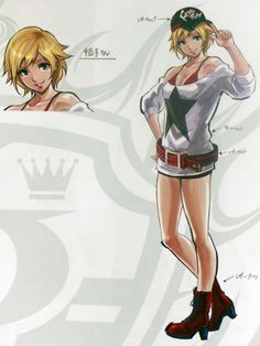 Alice - KOF XIV Artbook King Of Fighters, Game Character, Character Design, Gamers Anime, Girl Fights, Female Fighter, Gamer 4 Life, Female Anime, Fighting Games