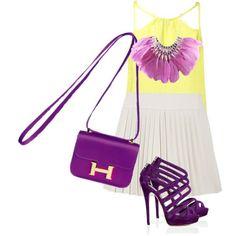 Purple Fashion :)