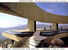 City Architecture    (INFINITE SPACE  The Architecture of John Lautner)