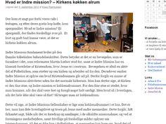 Artikel skrevet til Indre missions #Cafebussen under  #AArhus #festuge og hvad #IndreMission er for en størrelse. se det hele på http://cafebussen.dk/2014/09/hvad-er-indre-mission-kirkens-koekken-alrum/